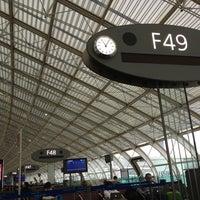Photo taken at Gate F49 by Boris T. on 2/28/2013