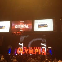 Photo taken at Mr.Olympia pre-judging by Brian F. on 9/29/2012
