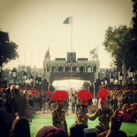 Photo taken at Wagah Border - India Pakistan Border by Roycin D. on 1/26/2013