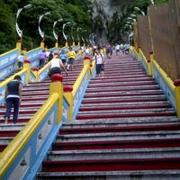 Photo taken at Batu Caves by (Cok) on 2/17/2013