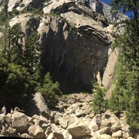Photo taken at Lower Yosemite Falls by Manny C. on 9/24/2016