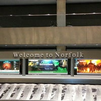 Photo taken at Norfolk International Airport (ORF) by La'Leatha S. on 3/1/2013