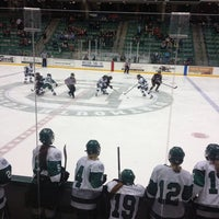 Photo taken at Thompson Arena at Dartmouth by Susan S. on 1/11/2014