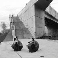 Photo taken at Olympic Sculpture Park by Ben W. on 11/2/2012
