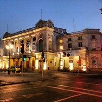 Photo taken at Teatro Municipal de Santiago by Felipe P. on 1/19/2013