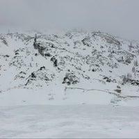 Photo taken at Lago Fedaia by Susanna A. on 2/14/2015