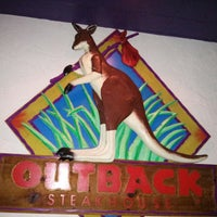 Photo taken at Outback Steakhouse by Max G. on 10/20/2013