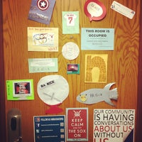 Photo taken at AU - McDowell Hall by Nicholas B. on 12/19/2012