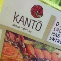 Photo taken at Kantô Sushi Express by Felipe F. on 2/1/2013