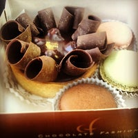 Photo taken at Chocolate Fashion French Bakery by Julio V. on 3/8/2013