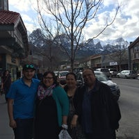 Photo taken at Canmore Hotel by Allan M. on 4/20/2014
