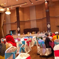 Photo taken at INTEKMA Resort & Convention Centre (IRCC) by Nik S. on 11/25/2012