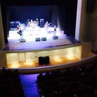 Photo taken at Teatro Municipal José Bohr by Romina L. on 10/4/2015