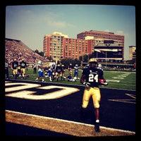 Photo taken at Vanderbilt Stadium - Dudley Field by Lacy P. on 9/15/2012