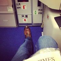 Photo taken at Lufthansa Flight LH 409 by Georg on 1/16/2014