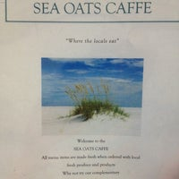 Photo taken at Sea Oats Cafe by Karen P. on 12/1/2013
