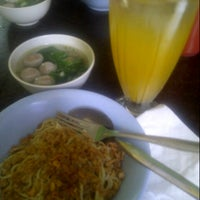 Photo taken at Mie Ayam Bakso AA by Donna R on 5/7/2013