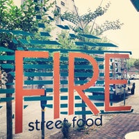 Photo taken at Fire Street Food by Diana C. on 5/17/2013