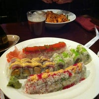 Photo taken at Tasu Asian Bistro Sushi & Bar by JoAnn A. on 11/2/2012