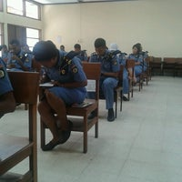 Photo taken at Sekolah Tinggi Pertanahan Nasional (STPN) by Indomielezat on 4/23/2013