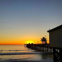 Photo taken at Metrolink San Clemente Pier Station by Shawn S. on 1/7/2015