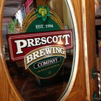 Photo taken at Prescott Brewing Company by Ricky P. on 10/28/2012
