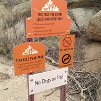 Photo taken at Pinnacle Peak Park by Ricky P. on 12/30/2012