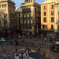 Photo taken at Hostal Mare Nostrum Barcelona by Camila C. on 6/12/2014