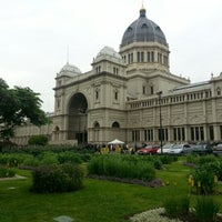 Photo taken at Royal Exhibition Building by Veronica V. on 11/6/2012