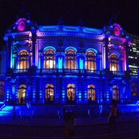 Photo taken at Theatro Municipal de São Paulo by Raquel L. on 5/15/2013