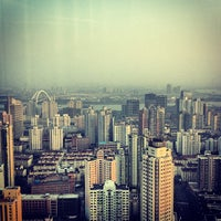 Photo taken at Pullman Shanghai Skyway Hotel by Sebastian K. on 4/7/2013