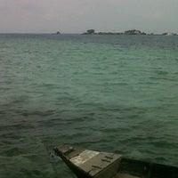 Photo taken at Pulau Karya by Lidya T. on 4/28/2013