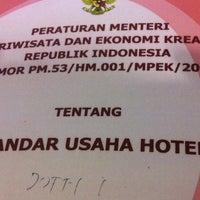 Photo taken at Hotel Losari Roxy by Dotty I. on 12/7/2013