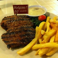 Photo taken at SteakHotel by Holycow! by Frizal G. on 8/11/2013