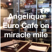 "Photo taken at Angelique Euro Café by James ""Jim"" R. on 7/20/2014"
