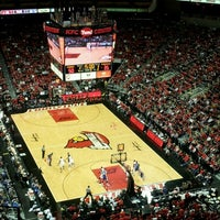 Photo taken at KFC Yum! Center by Andrew K. on 2/23/2013