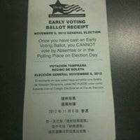 Photo taken at Chicago Board of Elections by Ava G. on 10/30/2012