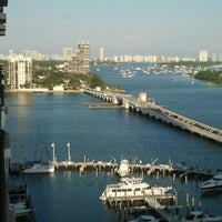 Photo taken at Miami Marriott Biscayne Bay by Trina P. on 4/15/2013