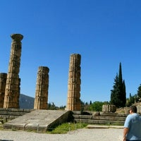 Photo taken at Temple of Apollo by Dimitra K. on 4/16/2016