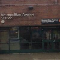 Photo taken at MTA Bus - Q38/Q54/Q67 - Metropolitan Av & Metro Av Station by Vicky C. on 3/28/2014