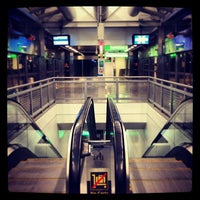 Photo taken at JFK AirTrain - Lefferts Boulevard by Manny G. on 12/24/2012
