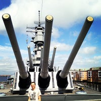 Photo taken at USS Wisconsin (BB-64) by Stephan S. on 5/10/2013