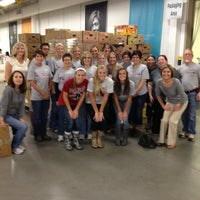 Photo taken at Regional Food Bank of Oklahoma by Alanna B. on 9/28/2012