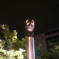 Photo taken at Frank Zappa Statue by Matt K. on 5/25/2013