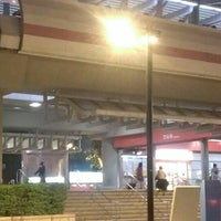 Photo taken at MRT Zhishan Station by Veronica C. on 3/12/2013