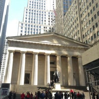 Photo taken at Federal Hall National Memorial by Itai N. on 3/20/2013