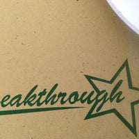 Photo taken at Breakthrough Restaurant by Henry R. on 10/22/2012