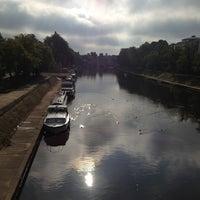 Photo taken at Skeldergate Bridge by Lauren S. on 8/26/2013