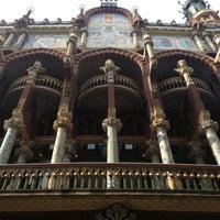 Foto tomada en Palau de la Música Catalana por Arsen M. el 2/5/2013