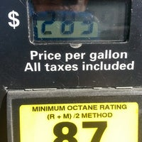 Photo taken at Costco Gasoline by Chuck S. on 10/25/2013